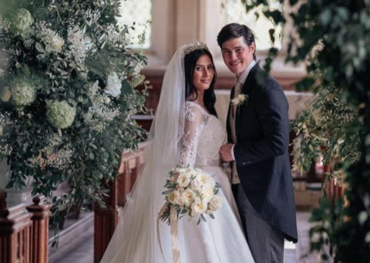 Phil Younghusband and Marga Hall Married
