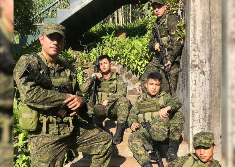 gerald anderson elmo magalona army reservist a soldier's heart