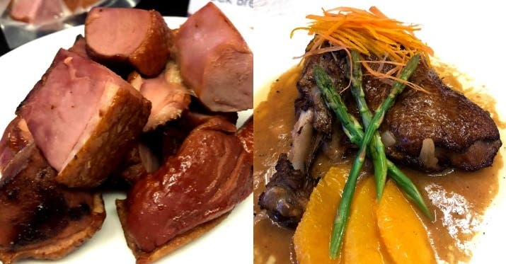 Dalee duck meat Duck Day Manila