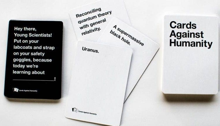 Gaming Library Cards Against Humanity