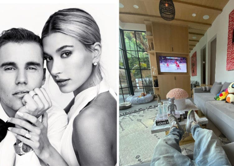 Justin and Hailey Bieber selling house Instagram