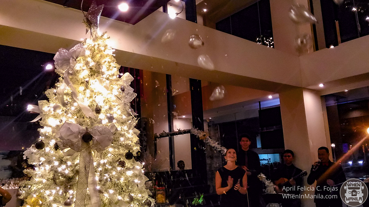 Christmas Tree Lighting at the Picasso
