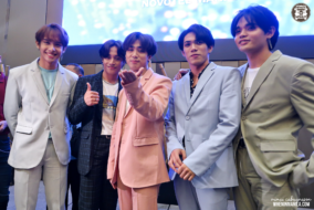 A group shot of SB19 during their 2nd Press Conference