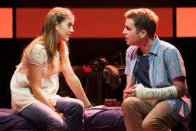 Evan Hansen and Zoe Murphy