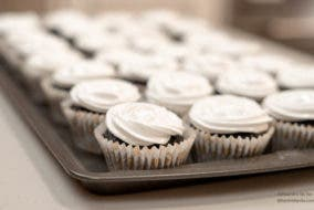 tray of cupcakes