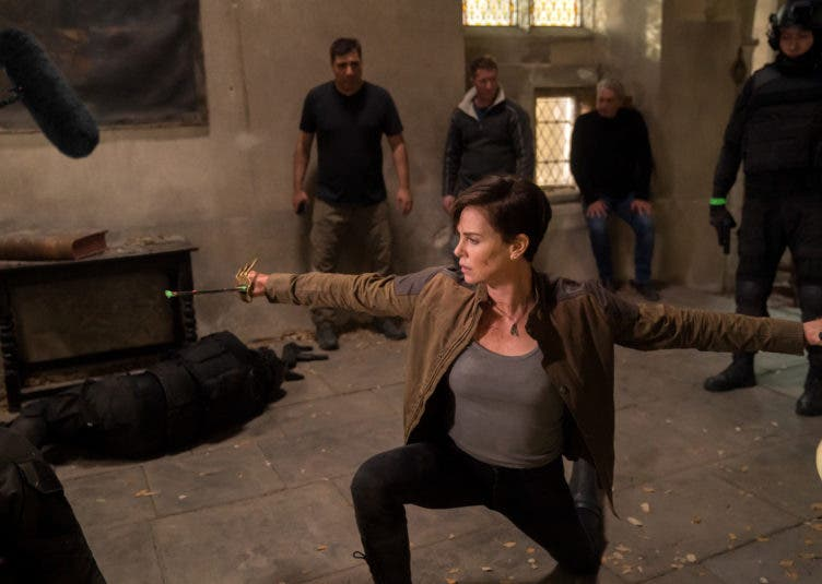 THE OLD GUARD Charlize Theron Combat Training Featurette