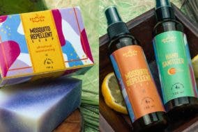 GentleBubs safe all natural organic soap disinfectant insect repellant hand sanitizer local Philippines Manila