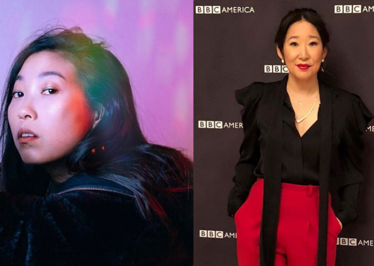 Photo from Awkwafina and Sandra Oh's Instagram