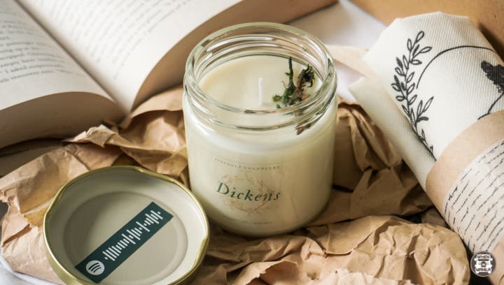 firebolt literature-inspired scented candles