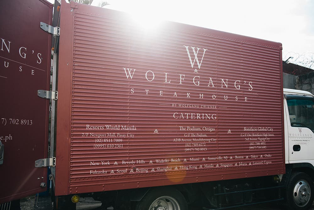 Wolfgangs Catering Truck 1000