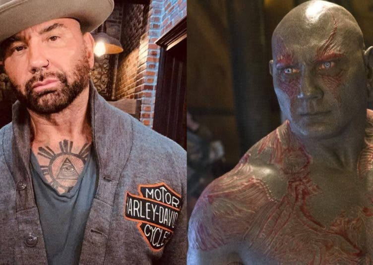 Dave Bautista Drax cover
