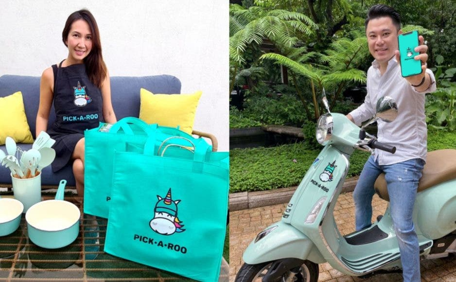 Lifestyle Delivery App Pickaroo Crystal Gonzales Kevin Tan